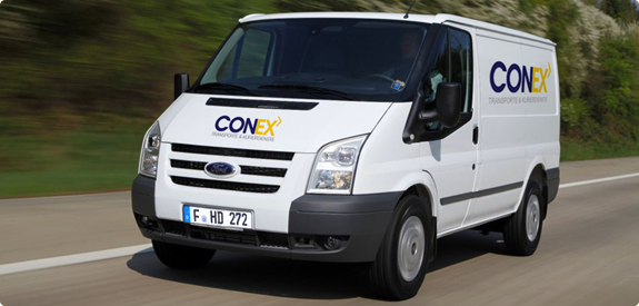 conex express kurierdienst kleintransporte transporte expresskurier last taxi frankfurt. Black Bedroom Furniture Sets. Home Design Ideas